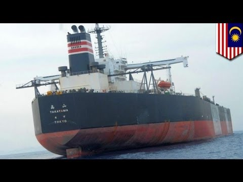 Japan oil tanker hijacked: pirates steal oil, kidnap 3 crew in the Strait of Malacca