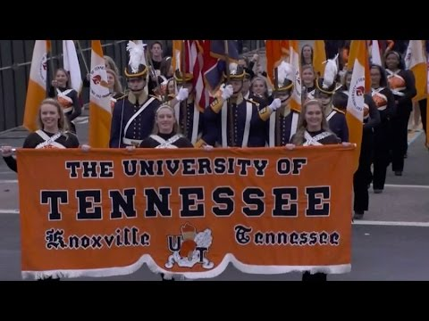 University of Tennessee marching Band Marches In Inaugural Parade