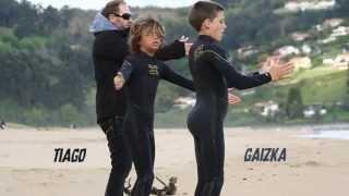 Billabong Mini Groms Training Camp in Spain