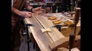 Hand inlay bowtie