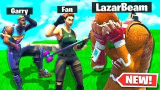 MADE A DEAL WITH A LAZARBEAM FAN AND THIS HAPPENED... Fortnite Battle Royale Gameplay