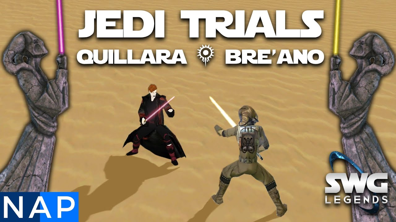 How To Defeat Quillara & Bre'ano - Master Jedi Cloak Collection - SWG  Legends Guide