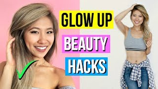 11 GLOW UP Beauty Hacks EVERY Girl Must Know for School!