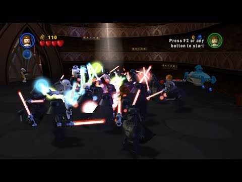 Craziest Epic Battle Ever on Geonosis - LEGO Star Wars The Complete Saga |