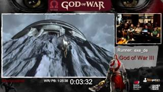 God of War Done Quick! God of War Speedrun Marathon! (part 5) - GoW 3