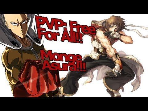 Ragnarok M Eternal Love: PvP Free For All level 75!!! Punho Supremo do One Punch Man!!! - Omega Play