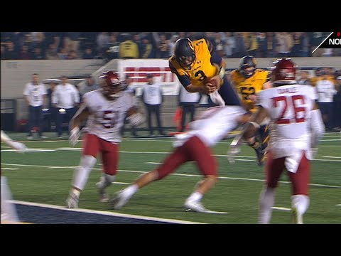 Highlight: Cal football's Ross Bowers scores first career rushing TD with spectacular flip into...