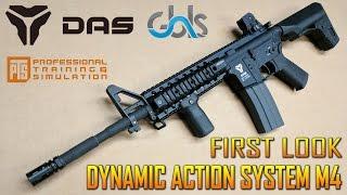 $2500 GBLS DAS M4A1 AIRSOFT GUN FIRST LOOK | SPARTAN117GW