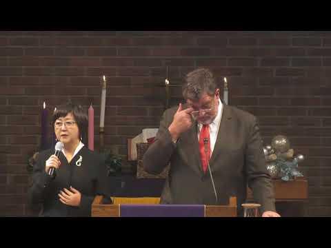 주일 설교 - 광야에서 외치는 소리  - Dr. David McAllister-Wilson - 2017.12.03