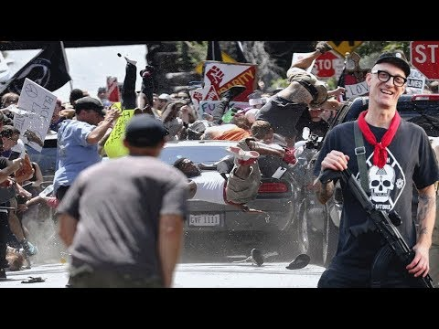 Antifa Professor Confronted About Chasing Fields Into His Car at Charlottesville
