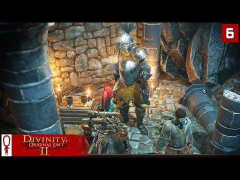 FROG SOUP and WITHERMOORE - Divinity Original Sin 2 Gameplay Part 6 - [Coop Multiplayer]