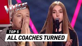 KIDS that made all COACHES TURN in The Voice Kids