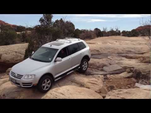 Touareg on Elephant Hill in Canyonlands National Park