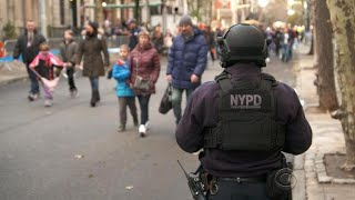 New York City tightens security for Thanksgiving Day Parade