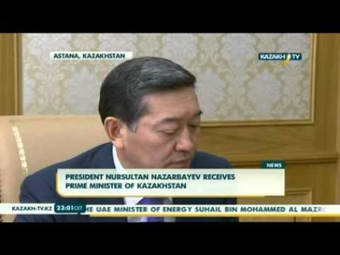 N.Nazarbayev receives prime minister of Kazakhstan