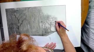 Hand Painted Photography Time Lapse Demonstration