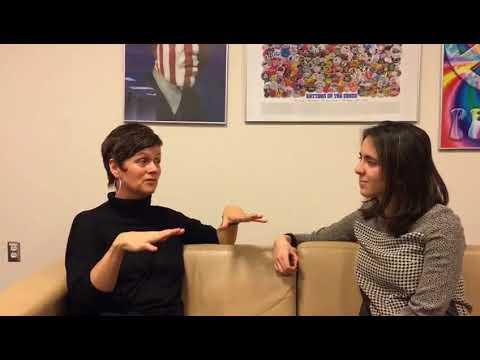 Entrevista de Fernanda Cobo a Siri Gloppen