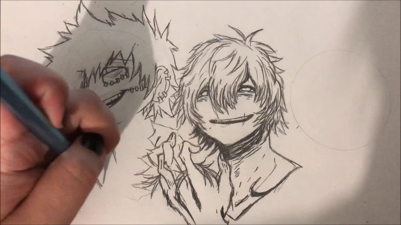 League Of Villains Sketch – The league of villains are a group formed by all for one and led by tomura shigaraki.