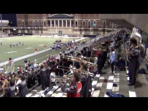 Cypress Springs High School Band Stand Tunes - 1 at Berry Stadium11/02/13