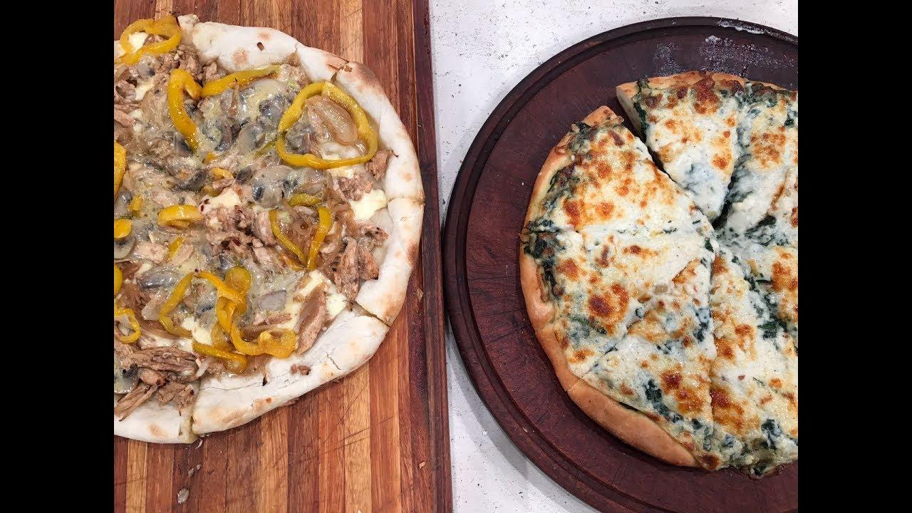 Pizza al molde Vs pizza a la piedra - YouTube