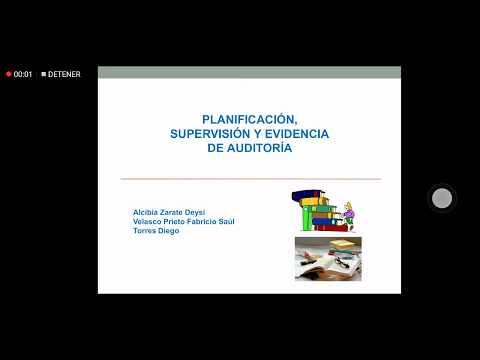 Planificacion Supervision Y Evidencia De Auditoria /Bolivia/Bro