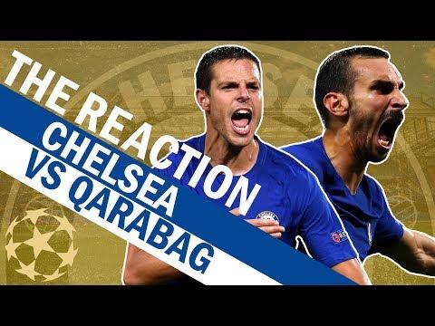 Zappacosta Scores A Screamer In Chelsea's 6-0 Win Vs Qarabag | The Reaction