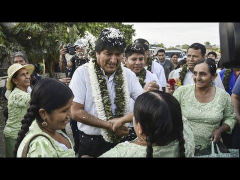 إيفو موراليس يتصدر الانتخابات الرئاسية لكنه مضطر لخوض جولة ثانية غير مسبوقة  - نشر قبل 3 ساعة