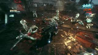 Batman: Arkham Knight - Combo Master - x551 vs 5 brutes
