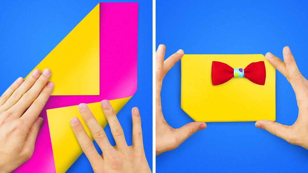 15 CUTE AND SIMPLE ORIGAMI PROJECTS FOR KIDS AND ADULTS