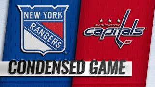 10/17/18 Condensed Game: Rangers @ Capitals
