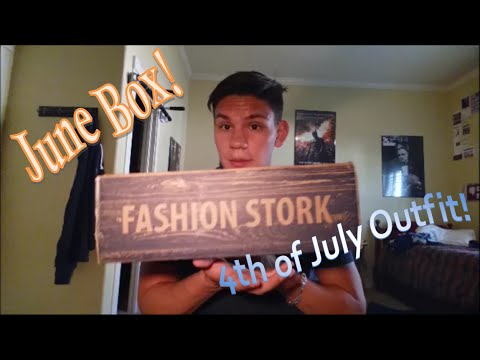 Fashion Stork June 2015 Men 39 S Clothing Subscription Box Review Youtube