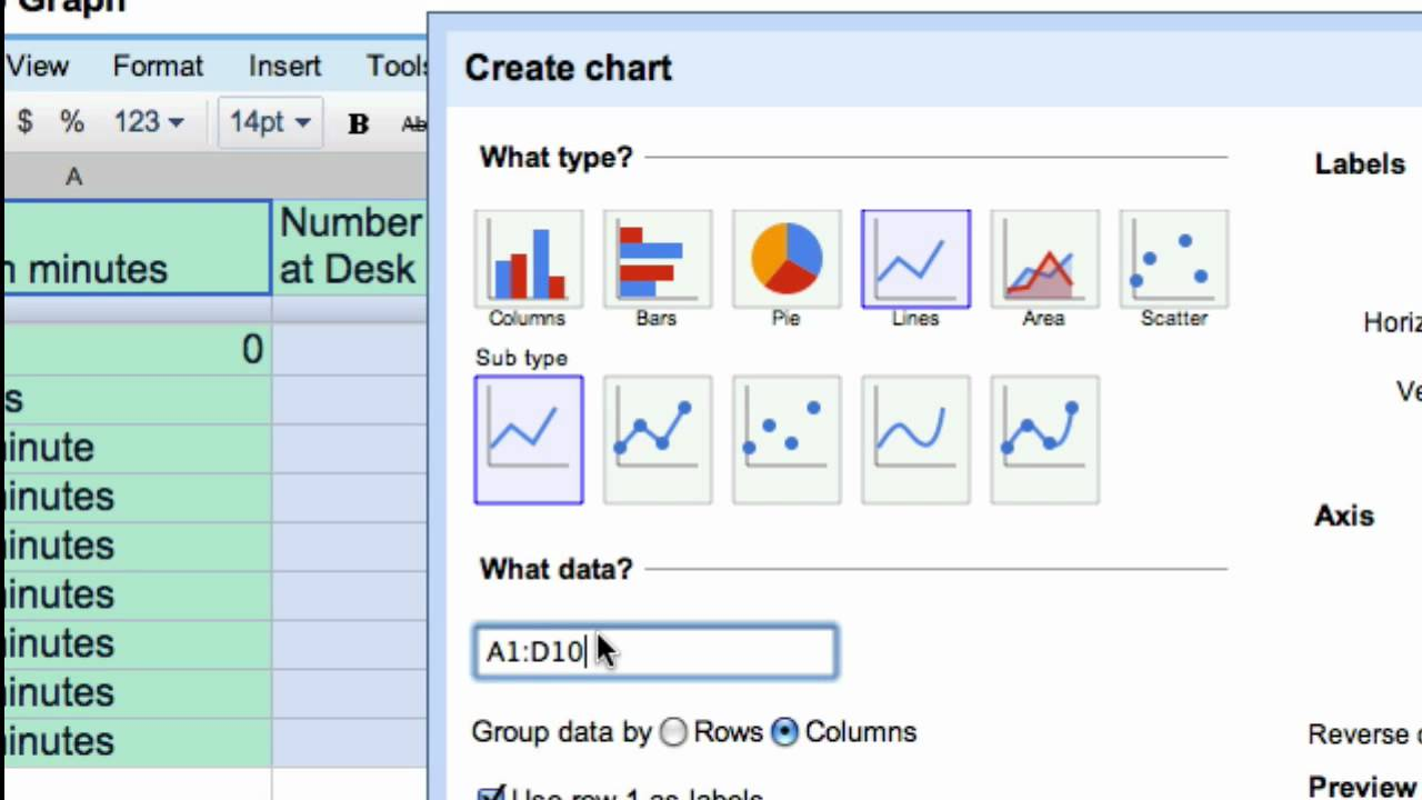Google Documents, Spreadsheets, Forms, Presentations & Drawing