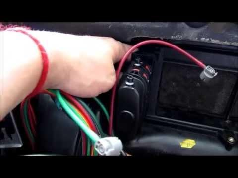 Mercedes-Benz W202 C280 Fresh Air/Recirculation vacuum element replacement
