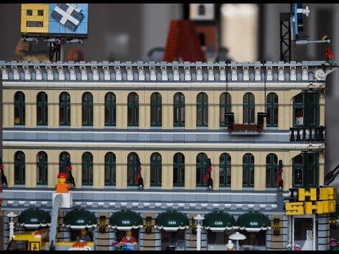 Combining two LEGO Modular Buildings - LEGO Creator Grand Emporium 10211