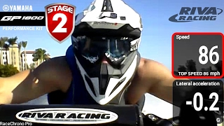 RIVA Yamaha GP1800 Stage 2 Kit Testing