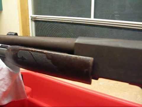 Restoring An Ithaca Model 37 shotgun