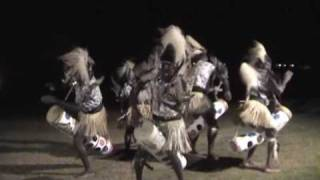 kikuyu warriors dance at mt kenya safari club