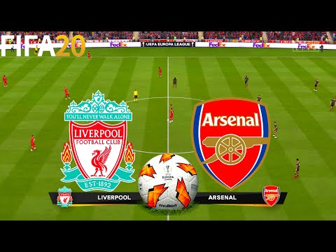 FIFA 20 | Liverpool vs Arsenal - UEL UEFA Europa League - Full Match & Gameplay