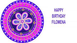 Filomena   Indian Designs - Happy Birthday
