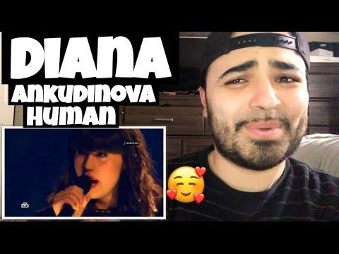 "Reacting To Diana Ankudinova "" Human"" Диана Анкудинова, г. Москва."