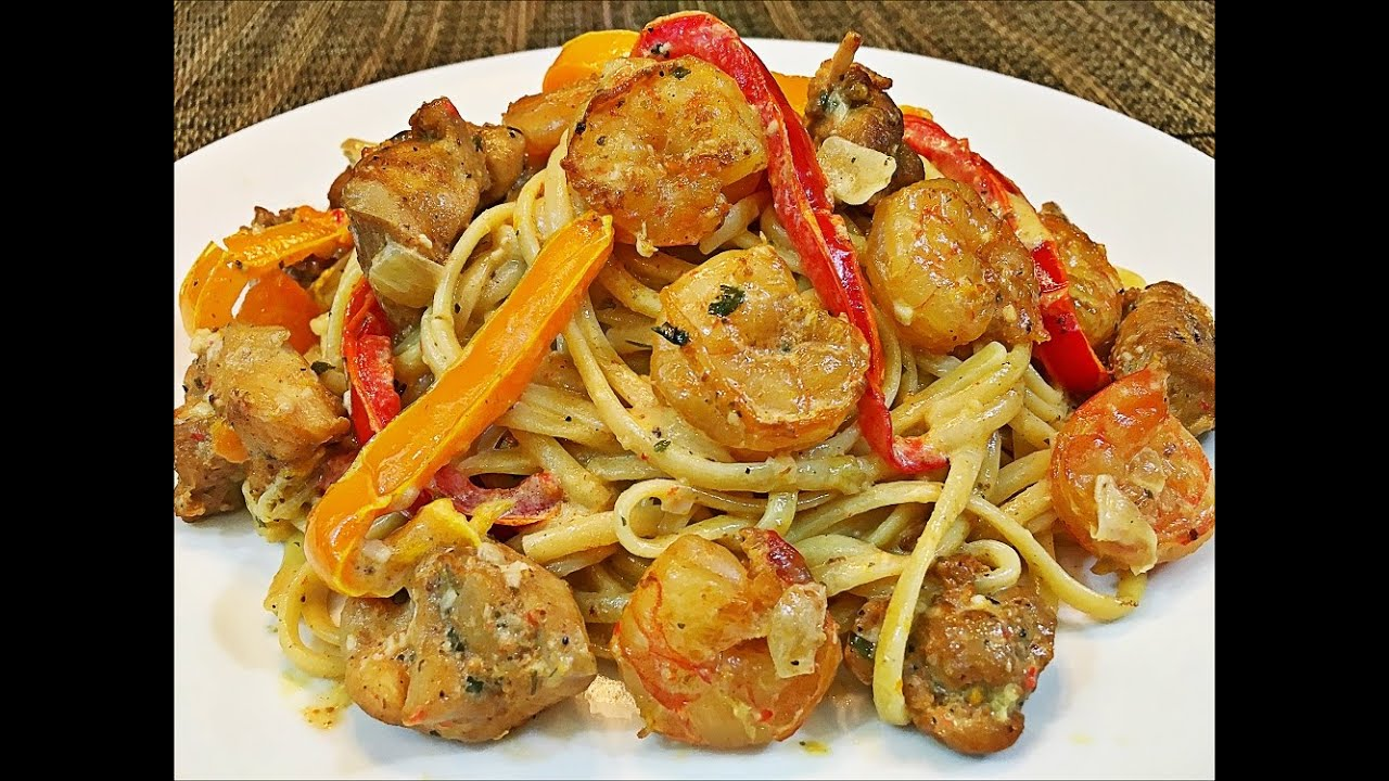 Cajun Chicken And Shrimp Pasta Recipe Creamy And Easy Pasta