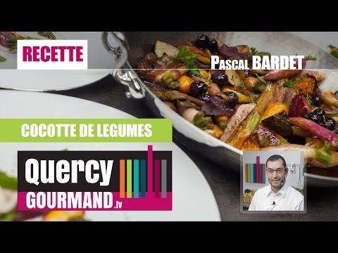 Recette : Cocotte de légumes – quercygourmand.tv