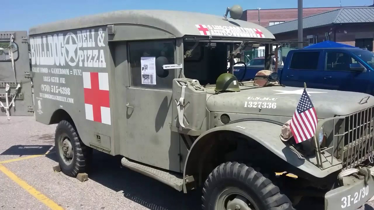 1953 Dodge Military Ambulance