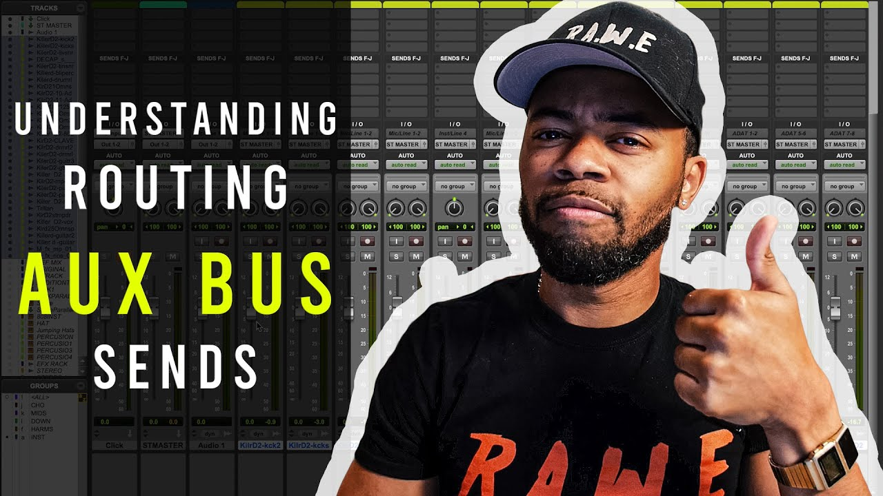 Understanding basic routing   Bus, Aux, Sends