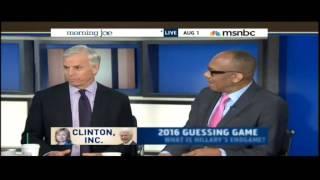 "Daniel Halper Talks ""Clinton, Inc."" On Morning Joe"