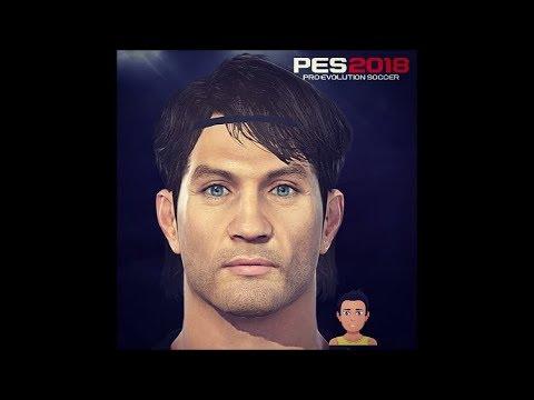 Paolo Maldini PES 2018 Face Build