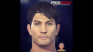Paolo Maldini PES 2018 Face Build