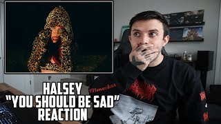Halsey - You Should Be Sad Reaction