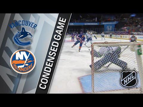 11/28/17 Condensed Game: Canucks @ Islanders