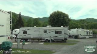 CampgroundViews.com - Rippling Waters Creekside RV Park Maggie Valley North Carolina NC